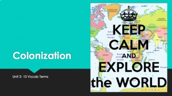 Colonization and Exploration PPT