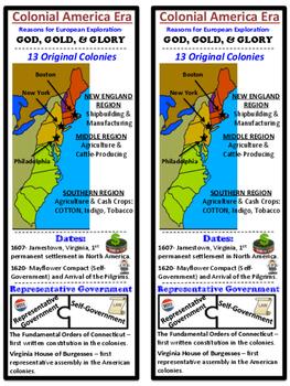 Colonization and Exploration, Desk Study Guide