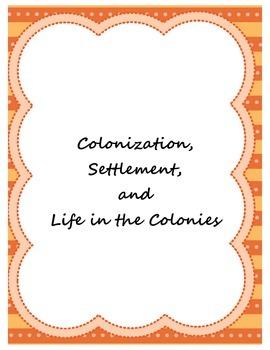 Colonization and Settlement Fluency Passages