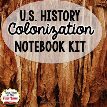 Colonization of America Notebook Kit (U.S. History)