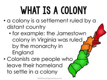 Colonization of America PowerPoint (U.S. History)