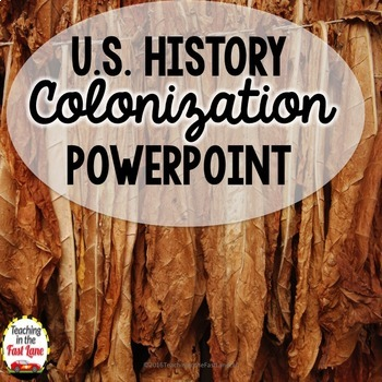 Colonization of America PowerPoint (U.S. History)