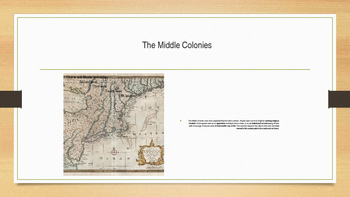 Colonization of North America: New England, Middle, and Southern Colonies