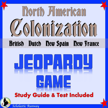 Colonization of North America: New Spain, New France, Dutch, English Colonies
