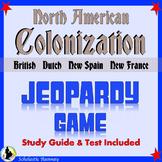 Colonization of North America: New Spain, New France, Dutc