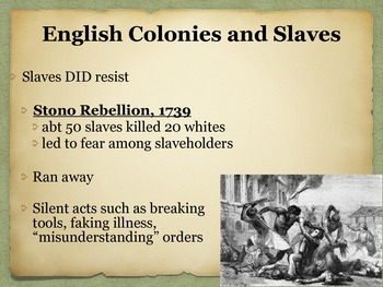 Colonization of North America Power Point