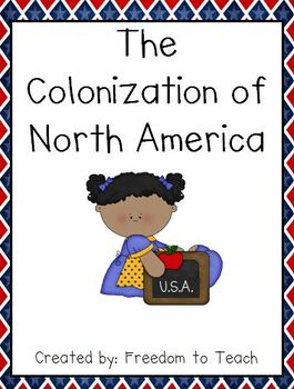 Colonization of North America UNIT Projects*Games*Study Guide*Test
