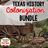 Colonization of Texas Bundle-Texas Colonization