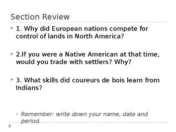 Colonizing North America America - PPT