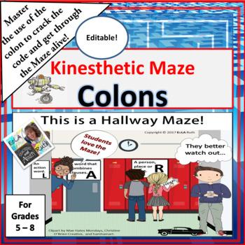 Colons Kinesthetic Maze