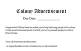 Colony Advertisement Project