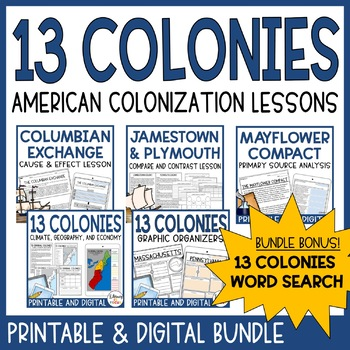 Colony Bundle | Includes Google Classroom Versions