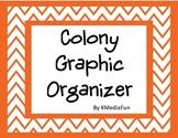 Colony Graphic Organizer Activity by KMediaFun