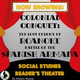Colony of Roanoke and Spanish Armada Social Studies Reader