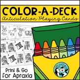 Color-A-Deck:  Apraxia