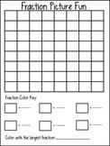 Color A Fraction Picture