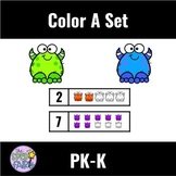 Color A Set Counting within 5 and 10
