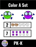 Color A Set within 5 and 10