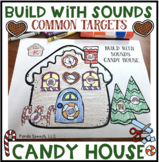 Build with Sounds Candy House! Speech Therapy Craft Activity