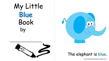 Color Activities and Mini Books
