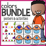 Color Activities and Posters Bundle