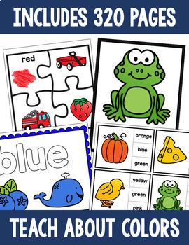 Colors Activity Bundle