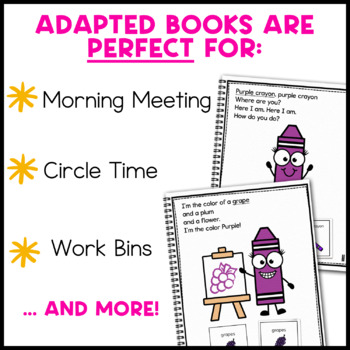 Color Adapted Book Bundle: 2 Color Adapted Books