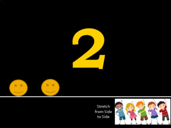 Color, Alphabet, Numbers, Shapes, Color Review Slide Show with Movement
