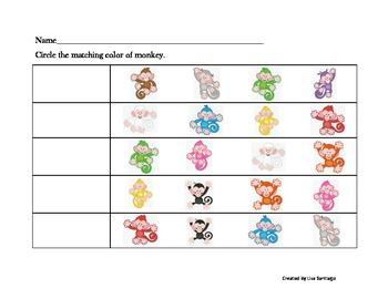 Color Activity in American Sign Language  (Fill in blank)