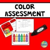 Color Assessment File Folder Kit