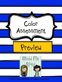 Color Assessment Preview