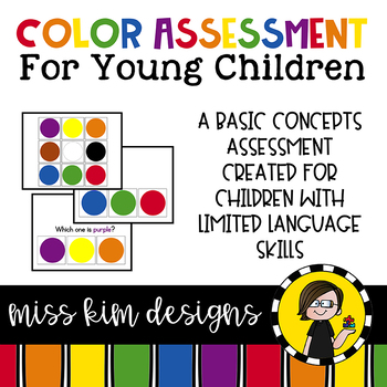 Color Assessment for for Students with Autism & Special Needs