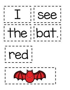Color Bat Sentences