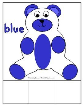 Color Bear Matching Mats