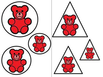 Color Bears Attributes Complete Math Center