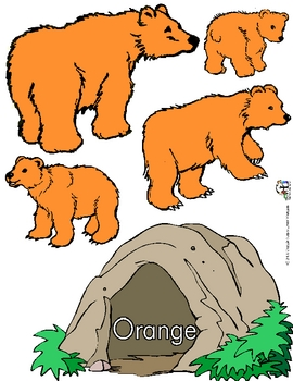 Color Bears' Caves