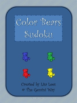 Color Bears Sudoku