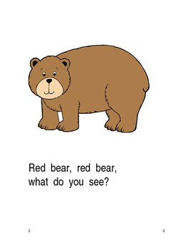 Color Bears adapted book, sequencing, communication boards, and pattern cards