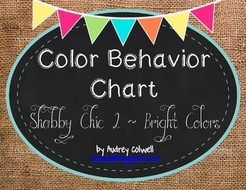 Color Behavior Chart ~ Burlap & Chalk 2