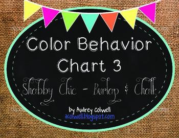 Color Behavior Chart ~ Burlap & Chalk 3