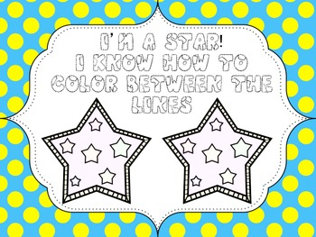 Color Between The Lines, Coloring / Drawing In Award / Certificate