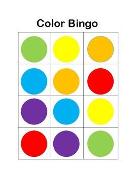 Color Bingo!