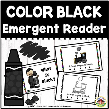 Color Black Emergent Reader