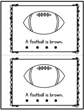 Color Brown Emergent Reader