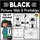 Color Black Picture Web Activity