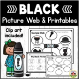 Color Black Picture Web