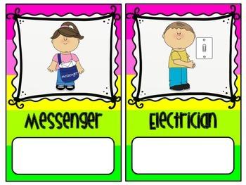 Color Block Classroom Jobs