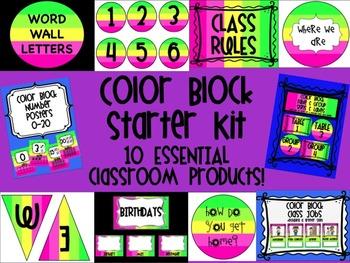 Color Block Starter Kit