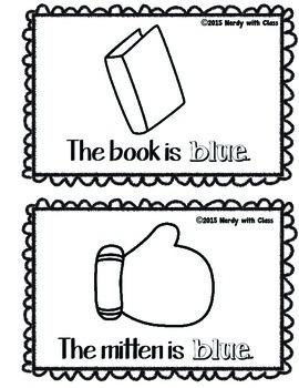 Color Blue Book