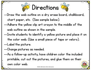 Color Yellow Picture Web Activity